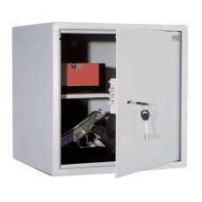 Сейф офисный мебельный облегченной конструкции AIKO 'T-40', 401х400х356 мм, 19 кг, ключевой замок, крепление к стене, полу