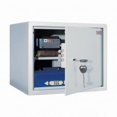 Сейф офисный мебельный облегченной конструкции AIKO 'Т28', 280х340х295 мм, 8 кг, ключевой замок, крепление к стене, полу