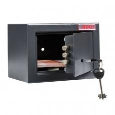 Сейф офисный мебельный облегченной конструкции AIKO 'T-140 KL', 140х195х140 мм, 3 кг, ключевой замок, крепление к стене