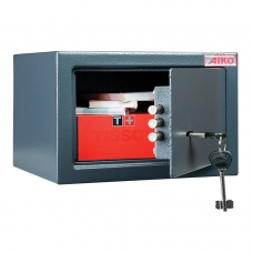 Сейф офисный мебельный облегченной конструкции AIKO 'T-170 KL', 170х260х230 мм, 5 кг, ключевой замок, крепление к стене