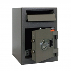 Сейф депозитный VALBERG 'ASD-19 EL', 489х342х381 мм, 38 кг, электронный замок, крепление к полу