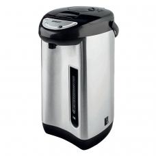 Термопот SCARLETT SC-ET10D01, 3,5 л, 750 Вт, 1 температурный режим, ручной насос, сталь, черный/серебристый, SC - ET10D01