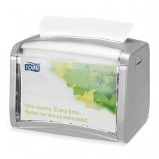 Диспенсер для салфеток TORK Система N4 Xpressnap, настольный, серый, 272613