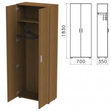 Шкаф для одежды 'Канц', 700х350х1830 мм, цвет орех пирамидальный, ШК40.9