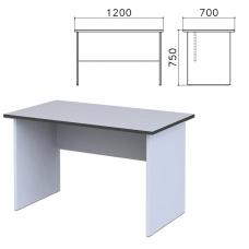 Стол письменный 'Монолит', 1200х700х750 мм, цвет серый, СМ1.11